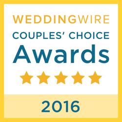 Royal Wedding Prague, WeddingWire Couples' Choice Award Winner 2016