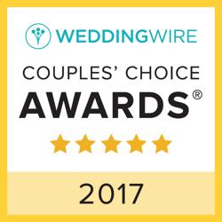 Royal Wedding Prague, WeddingWire Couples' Choice Award Winner 2017