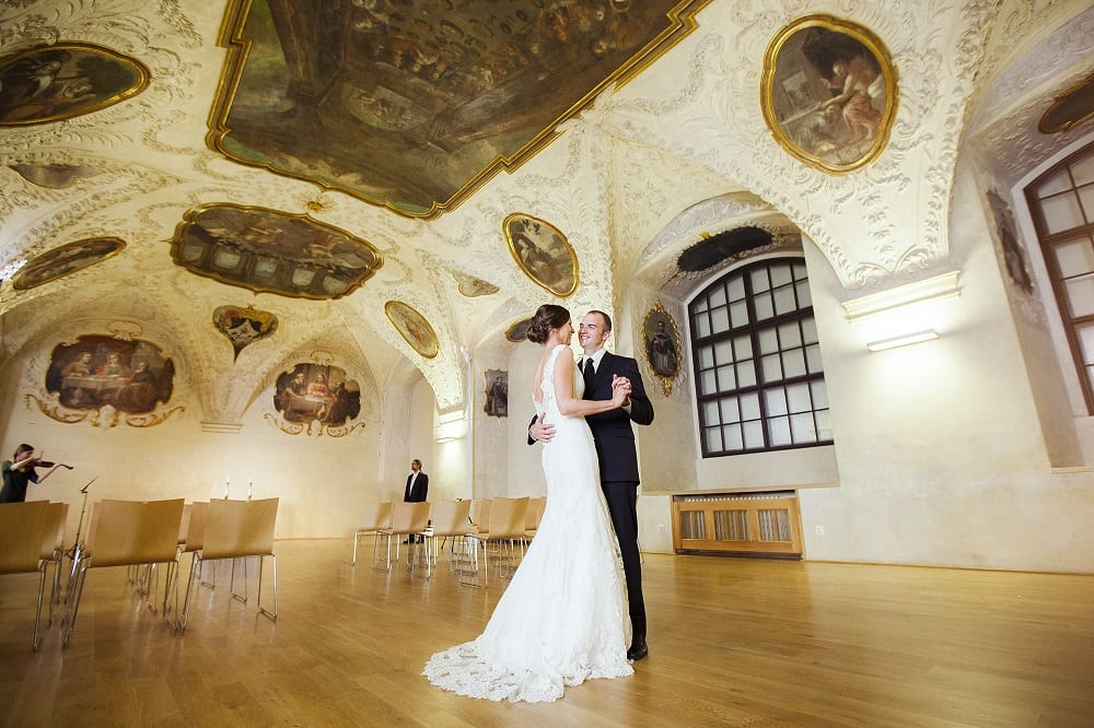 Wedding at the Baroque Hall
