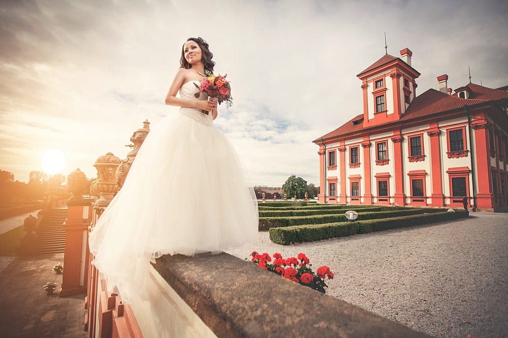 Свадьба в Тройском замке
